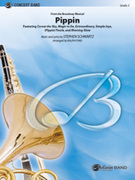 Cover icon of Pippin (COMPLETE) sheet music for concert band by Stephen Schwartz