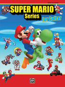Cover icon of New Super Mario Bros. Wii New Super Mario Bros. Wii Desert Background Music sheet music for guitar solo (tablature) by Shiho Fuji