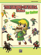 Cover icon of The Legend of Zeldau: A Link to the Pastu The Legend of Zeldau: A Link to the Pastu The Dark World sheet music for guitar solo (tablature) by Koji Kondo, easy/intermediate guitar (tablature)