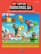 Cover icon of New Super Mario Bros. Wii New Super Mario Bros. Wii World 1 Map sheet music for piano solo by Kenta Nagata and Shinobu Amayake
