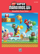 Cover icon of New Super Mario Bros. Wii New Super Mario Bros. Wii Game Over sheet music for piano solo by Kenta Nagata and Shinobu Amayake, easy/intermediate piano