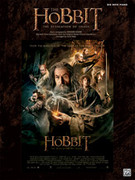 Cover icon of The Woodland Realm (from The Hobbit: The Desolation of Smaug) sheet music for piano solo (big note book) by Howard Shore and Philippa Boyens