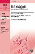 Cover icon of Ain't Misbehavin' (from the musical Ain't Misbehavin') sheet music for choir (SATB: soprano, alto, tenor, bass) by Thomas Waller, Andy Razaf, Thomas Waller and Larry Shackley, intermediate skill level