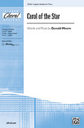 Cover icon of Carol of the Star sheet music for choir (3-Part Mixed) by Donald Moore, intermediate