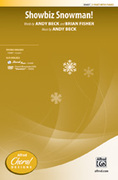 Cover icon of Showbiz Snowman! sheet music for choir (2-Part) by Andy Beck and Brian Fisher, intermediate