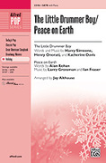 Cover icon of The Little Drummer Boy / Peace on Earth sheet music for choir (SATB) by Harry Simeone