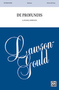 Cover icon of De Profundis sheet music for choir (SSAA: soprano, alto) by Russell Robinson, intermediate skill level
