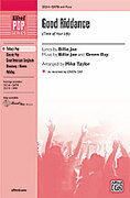 Cover icon of Good Riddance (Time of Your Life) sheet music for choir (SATB) by Green Day, Billie Joe and Mike Taylor