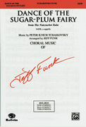 Cover icon of Dance of the Sugar-Plum Fairy (from The Nutcracker Suite) sheet music for choir (SATB, a cappella) by Pyotr Ilyich Tchaikovsky and Pyotr Ilyich Tchaikovsky, intermediate