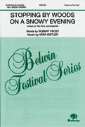 Cover icon of Stopping by Woods on a Snowy Evening sheet music for choir (Unison or 2-Part) by Kistler