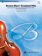 Cover icon of Bruno Mars' Greatest Hits (COMPLETE) sheet music for full orchestra by Bruno Mars and Victor Lopez