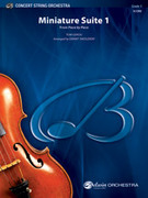 Cover icon of Miniature Suite 1 (COMPLETE) sheet music for string orchestra by Tom Gerou