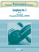 Cover icon of Symphony No. 3 (COMPLETE) sheet music for string orchestra by Johann Stamitz, Johann Stamitz and Bob Phillips