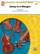 Cover icon of Away in a Manger sheet music for string orchestra (full score) by Martin Luther, intermediate