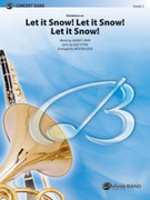 Cover icon of Let It Snow! Let It Snow! Let It Snow!, Variations on sheet music for concert band (full score) by Jule Styne