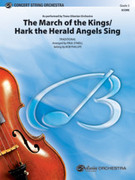 Cover icon of The March of the Kings / Hark the Herald Angels Sing (COMPLETE) sheet music for string orchestra by Paul O'Neill, intermediate