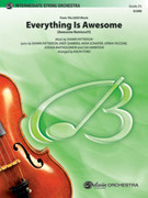 Cover icon of Everything Is Awesome sheet music for string orchestra (full score) by Shawn Patterson