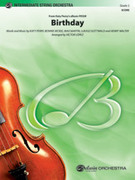 Cover icon of Birthday sheet music for string orchestra (full score) by Katy Perry, Bonnie McKee, Max Martin and Lukasz Gottwald