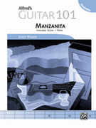 Cover icon of Alfred's Guitar 101, Ensemble: Manzanita (COMPLETE) sheet music for guitar solo by Jody Fisher, easy/intermediate