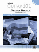 Cover icon of Alfred's Guitar 101, Ensemble: One for Herman (COMPLETE) sheet music for guitar solo by Jody Fisher