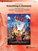 Cover icon of Everything Is Awesome sheet music for concert band (full score) by Shawn Patterson, Andy Samberg, Akiva Schaffer, Jorma Taccone and Joshua Bartholomew