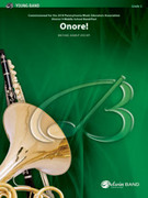 Cover icon of Onore! sheet music for concert band (full score) by Michael Kamuf