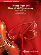 Cover icon of New World Symphony, Theme from the sheet music for full orchestra (full score) by Antonin Dvorak