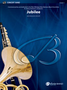 Cover icon of Jubilee sheet music for concert band (full score) by Jack Bullock