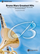 Cover icon of Bruno Mars Greatest Hits (COMPLETE) sheet music for concert band by Bruno Mars and Victor Lopez