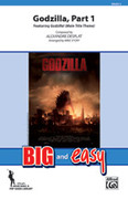 Cover icon of Godzilla, Part 1 (COMPLETE) sheet music for marching band by Alexandre Desplat and Michael Story