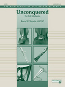 Cover icon of Unconquered sheet music for full orchestra (full score) by Bruce W. Tippette