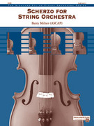 Cover icon of Scherzo for String Orchestra (COMPLETE) sheet music for string orchestra by Barry Milner, intermediate skill level