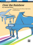 Cover icon of Over the Rainbow (COMPLETE) sheet music for piano solo by Harold Arlen and Melody Bober, easy/intermediate piano