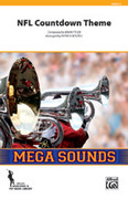 Cover icon of NFL Countdown Theme (COMPLETE) sheet music for marching band by Brian Tyler