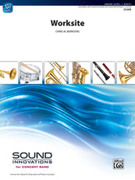 Cover icon of Worksite sheet music for concert band (full score) by Chris M. Bernotas