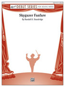 Cover icon of Skygazer Fanfare sheet music for concert band (full score) by Randall D. Standridge