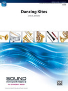 Cover icon of Dancing Kites sheet music for concert band (full score) by Chris M. Bernotas