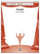 Cover icon of Skylight sheet music for concert band (full score) by Steve Hodges