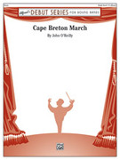 Cover icon of Cape Breton March sheet music for concert band (full score) by John O'Reilly, intermediate skill level