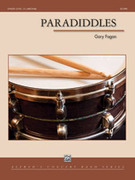 Cover icon of Paradiddles sheet music for concert band (full score) by Gary Fagan