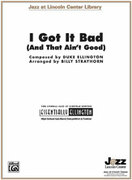 Cover icon of I Got It Bad sheet music for jazz band (full score) by Duke Ellington and Billy Strayhorn, intermediate