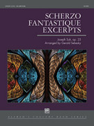 Cover icon of Scherzo Fantastique Excerpts sheet music for concert band (full score) by Joseph Suk, intermediate