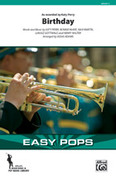 Cover icon of Birthday sheet music for marching band (full score) by Katy Perry, Bonnie McKee, Max Martin and Lukasz Gottwald