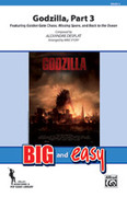 Cover icon of Godzilla, Part 3 sheet music for marching band (full score) by Alexandre Desplat and Michael Story