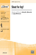 Cover icon of Shout for Joy! sheet music for choir (2-Part) by Sally K. Albrecht and Jay Althouse