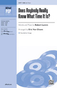 Cover icon of Does Anybody Really Know What Time It Is? sheet music for choir (SAB: soprano, alto, bass) by Robert Lamm and Chicago, intermediate