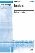 Cover icon of Benedictus sheet music for choir (SAB) by Brian Lewis