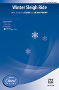 Cover icon of Winter Sleigh Ride sheet music for choir (SAB) by Dave Perry and Jean Perry