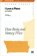 Cover icon of I Love a Piano sheet music for choir (2-Part) by Irving Berlin, Don Besig and Nancy Price, intermediate