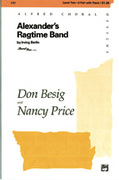 Cover icon of Alexander's Ragtime Band sheet music for choir (2-Part) by Irving Berlin, Don Besig and Nancy Price, intermediate choir (2-Part)